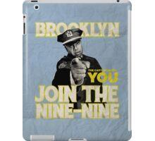 The Captain Needs You iPad Case/Skin