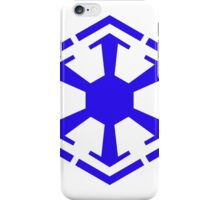 Imperial Crest Blue iPhone Case/Skin