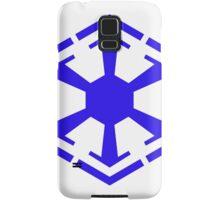 Imperial Crest Blue Samsung Galaxy Case/Skin