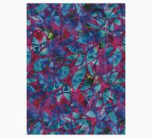Floral Abstract Stained Glass Kids Clothes