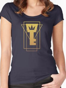 Kingdom Key Women's Fitted Scoop T-Shirt