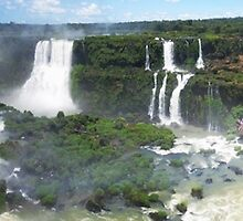 Iguazu, Viewing the Viewers by Gillian  Ford