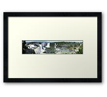 Iguazu, Viewing the Viewers Framed Print
