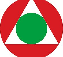 Roundel of the Lebanese Air Force by abbeyz71