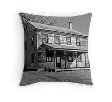 Old Country Home Throw Pillow