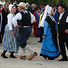 Les Danseurs du Chaboussant  by Pamela Jayne Smith