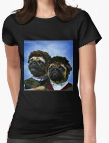 step pugs Womens Fitted T-Shirt