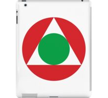Roundel of the Lebanese Air Force iPad Case/Skin