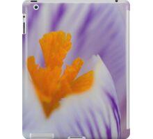 Crocus macro iPad Case/Skin
