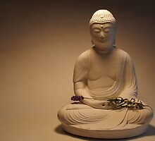 Buddha at rest by David Pond