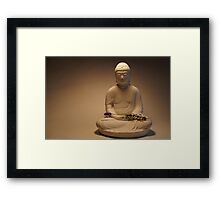 Buddha at rest Framed Print