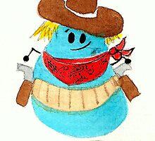 Cowboy Bean by KeLu