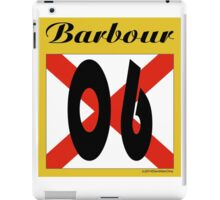 ALABAMA:  06 BARBOUR COUNTY iPad Case/Skin