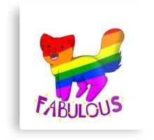 Fabulous Cat Metal Print