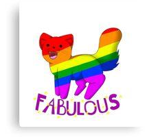 Fabulous Cat Canvas Print