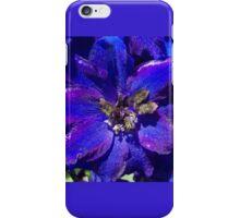 Butterfly Delphinium  iPhone Case/Skin