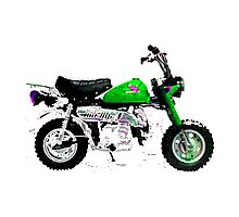 Honda z50 style motorcycle Photographic Print