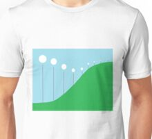 Abstract Landscape - Lights on the Hill Unisex T-Shirt