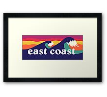 East Coast Framed Print