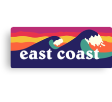 East Coast Canvas Print