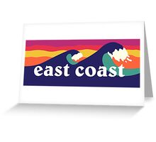 East Coast Greeting Card