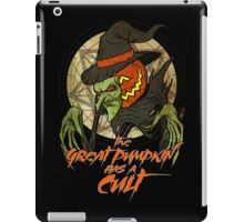 Cult of the Great Pumpkin: Witch Mask iPad Case/Skin