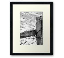 Old Fence Framed Print