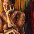 Figure Painting 1 by Steven Novak