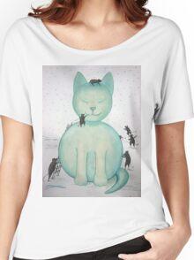 Snowcat Tee Women's Relaxed Fit T-Shirt