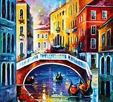 Venice Morning — Buy Now Link - www.etsy.com/listing/222582320 by Leonid  Afremov