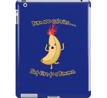 Burning Calories! iPad Case/Skin