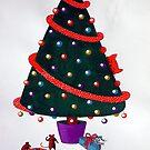 Green Xmas Tree by fesseldreg