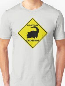 Slowpoke Crossing Sign T-Shirt