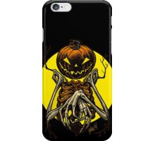 Autumn People 7: Pumpkin iPhone Case/Skin