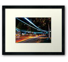 lightspeed Framed Print