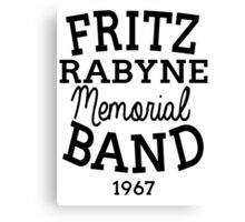 Fritz  Canvas Print