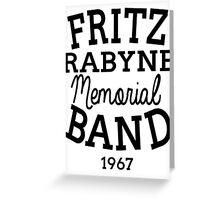 Fritz  Greeting Card