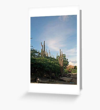 Organ Cactus Greeting Card