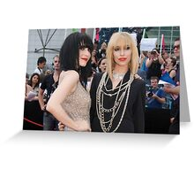 The Veronicas Greeting Card