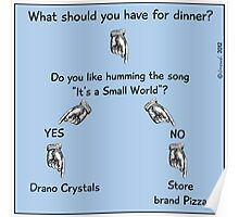 What should you have for dinner? Poster