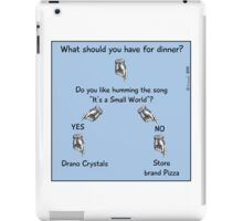 What should you have for dinner? iPad Case/Skin