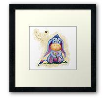 Winnie the Pooh - Baby Eeyore Framed Print