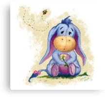 Winnie the Pooh - Baby Eeyore Canvas Print