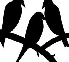 The Fifth Element - Neighborhood Bird-Watch Sticker