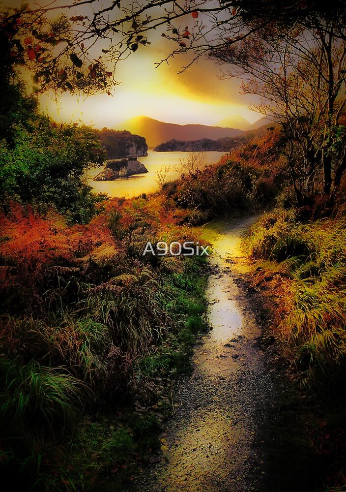 Killarney Lake Path by A90Six