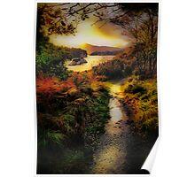 Killarney Lake Path Poster