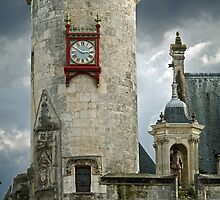Clock Tower of La Roshelle's City Hall by Anatoliy