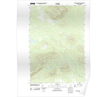 Maine USGS Historical Map Jo-Mary Mountain 20110831 TM Poster