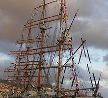 Tall Ships Madeira by Tobi Hughes