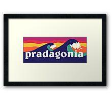 Pradagonia waves Framed Print